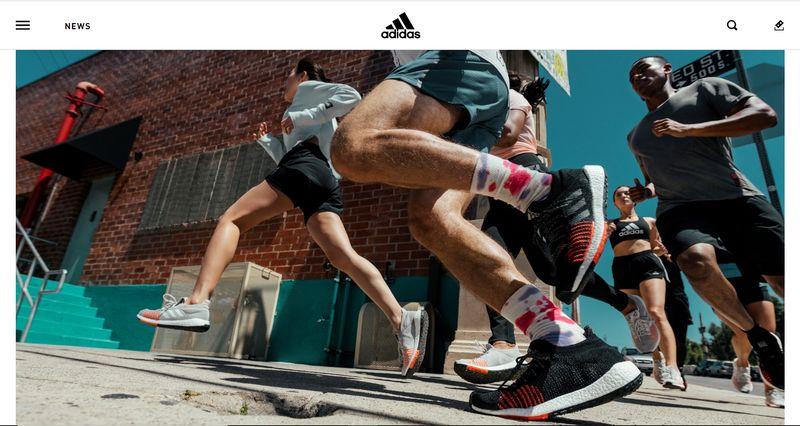 using qr codes for marketing running shoes
