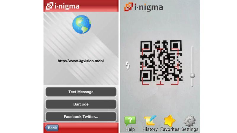 qr code scanner apps enigma