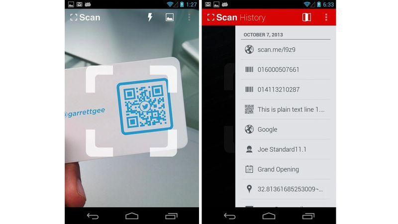 qr code scanner app scan