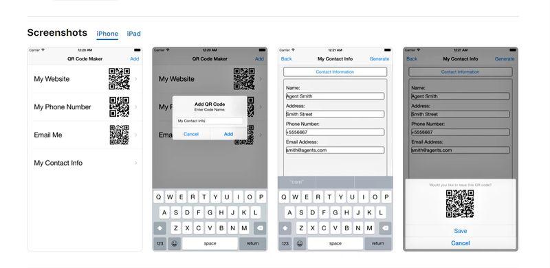 qr code scanner apps maker