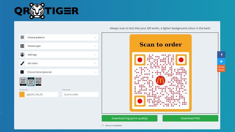qr code generator with logo