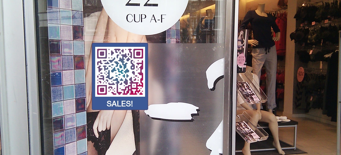 url qr code in window store