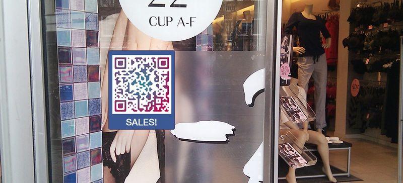 url qr code in window store