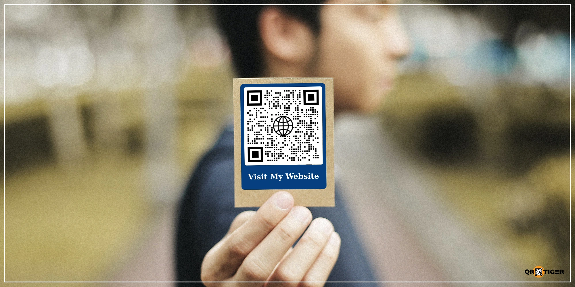 qr code for a website