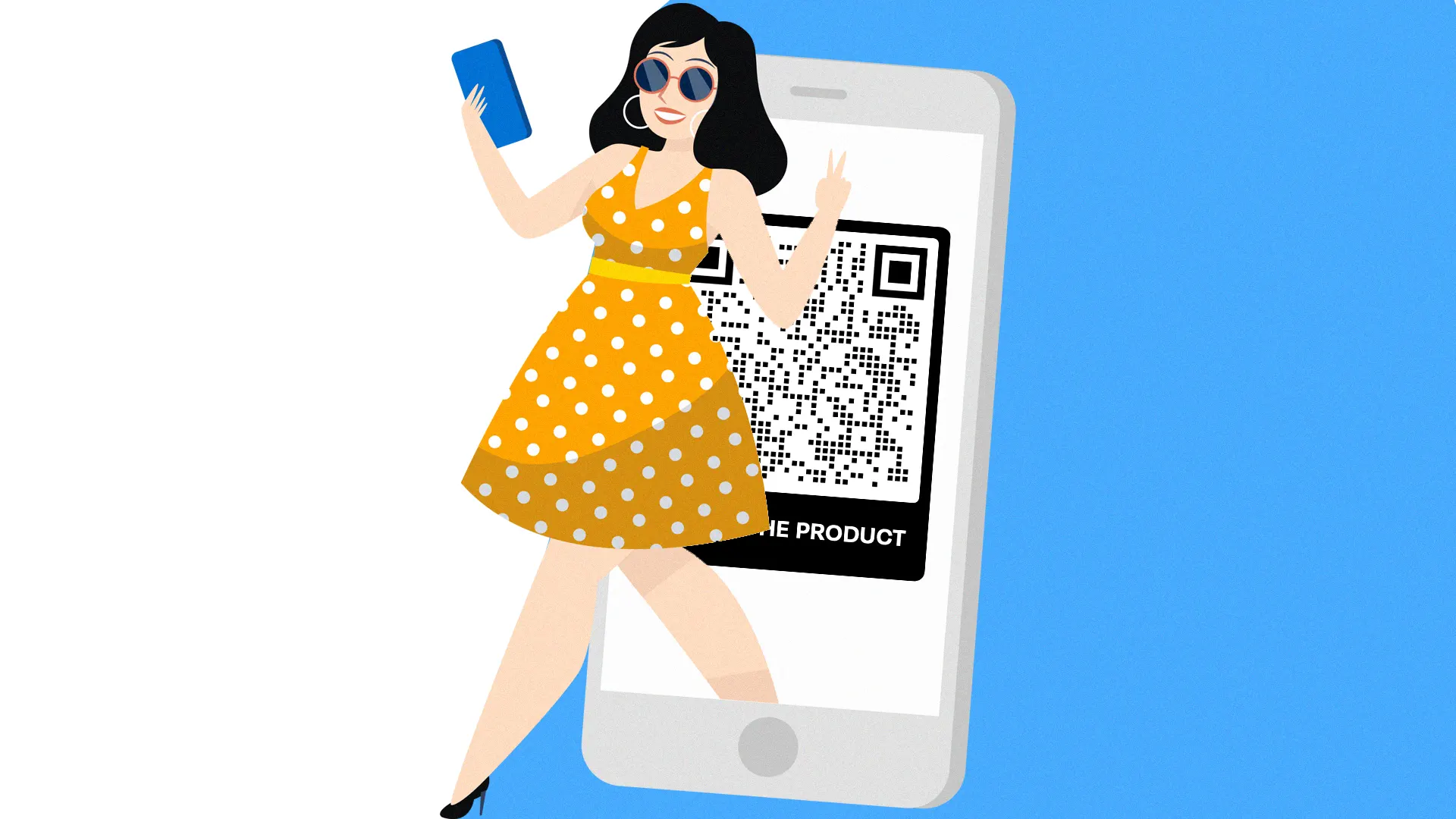 qr codes on product packaging for coverage