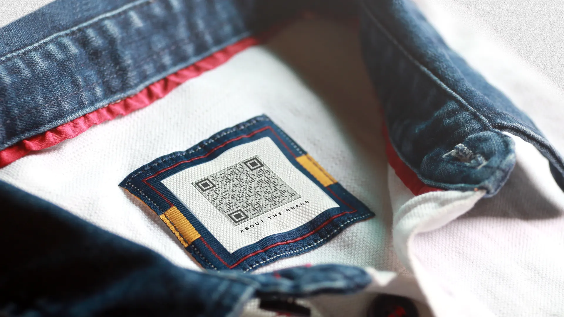 qr codes on clothing brands