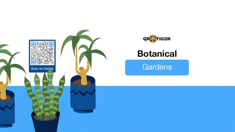 qr codes in botanical gardens