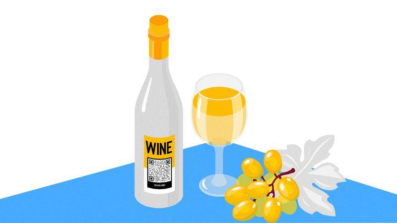 qr codes on bottles