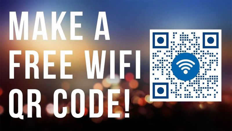 generate a free qr code for wifi