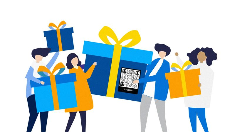 qr codes on gift cards