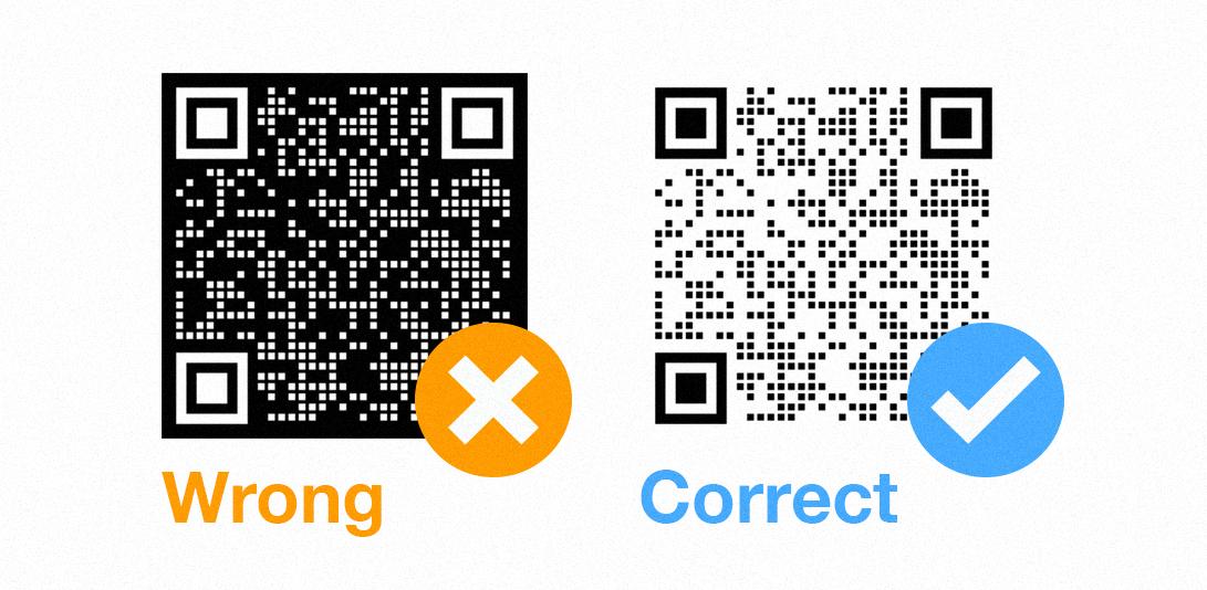 qr code printing service