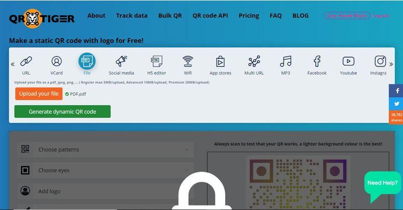 pdf qr code generator online
