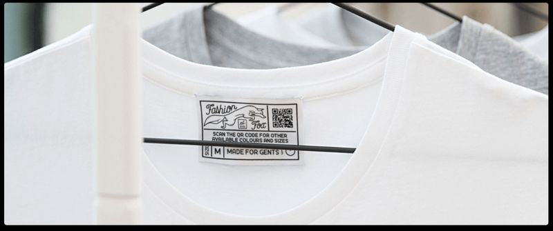 qr codes on clothing retail