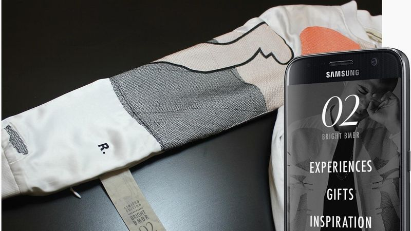 qr codes on clothing