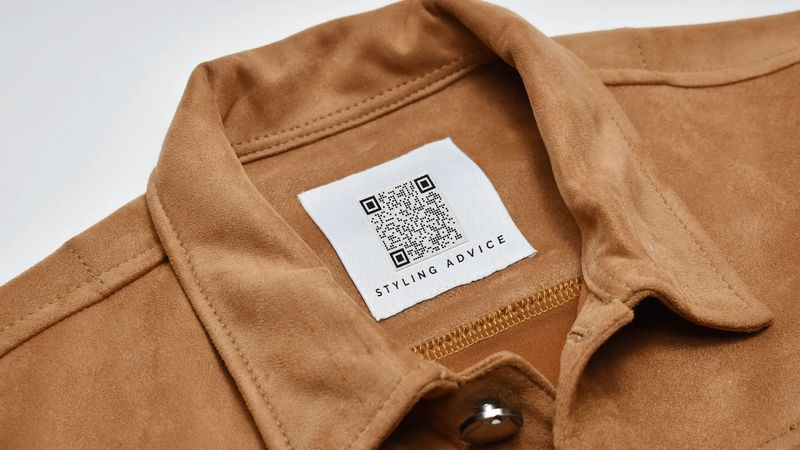 qr codes on clothing styles