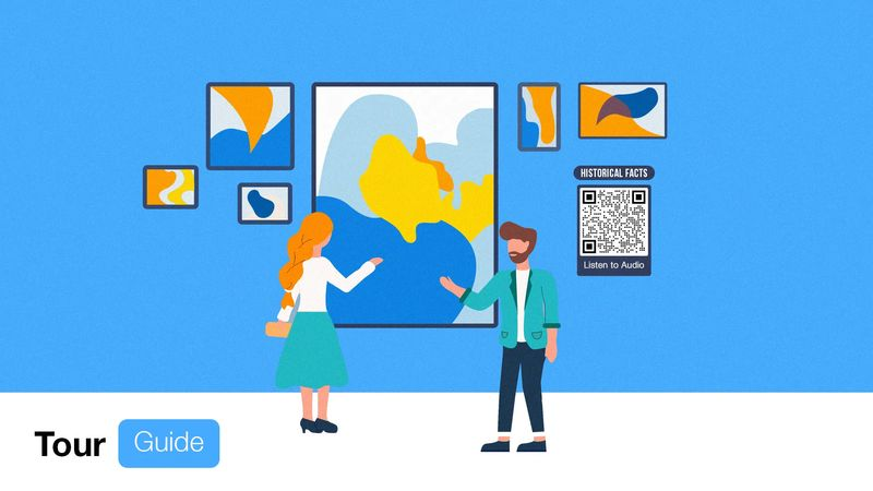 qr codes in museums