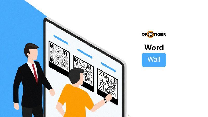word wall qr codes