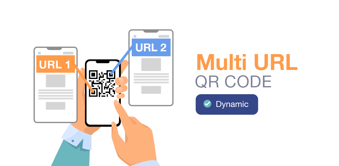 types of qr code multi url