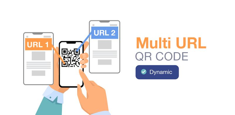 types of qr code multi url