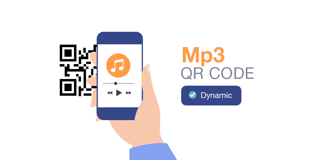types of qr code mp3