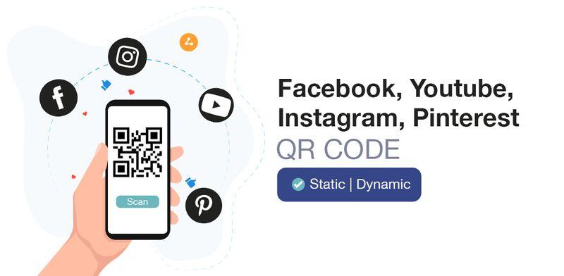 qr code types social media