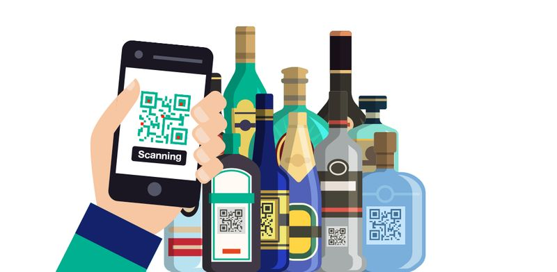 qr codes in china products