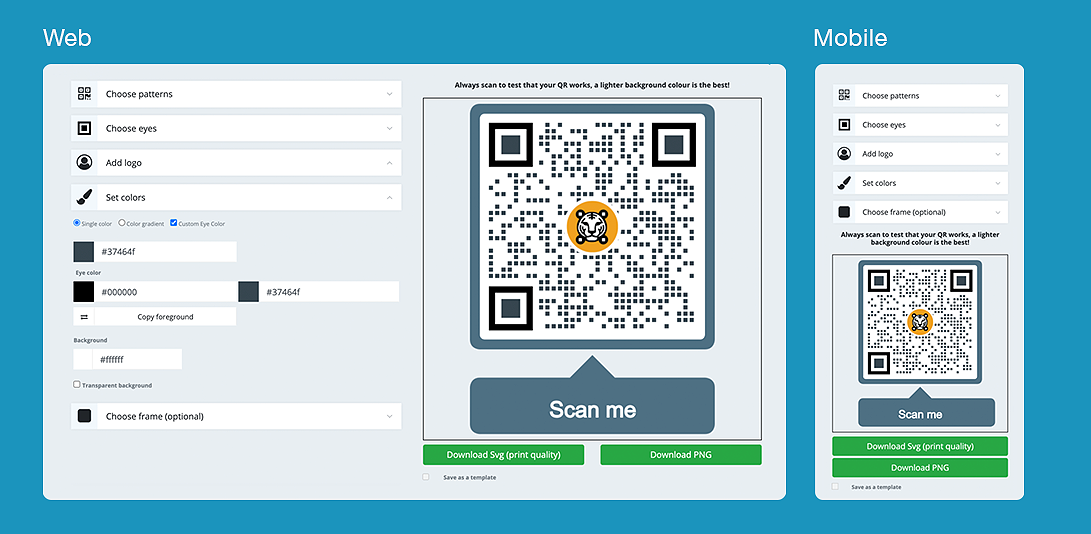 qr code location tracking