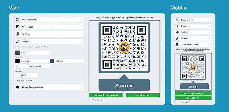 qr codes in survey generate qr code