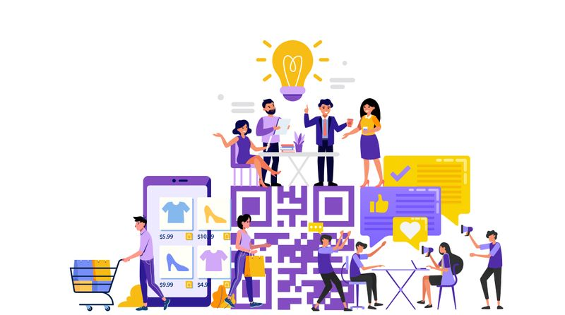 how to generate sales leads using qr code