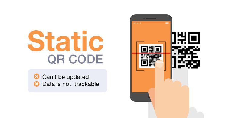 static qr code