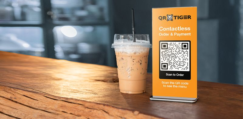qr codes in print ads contactless