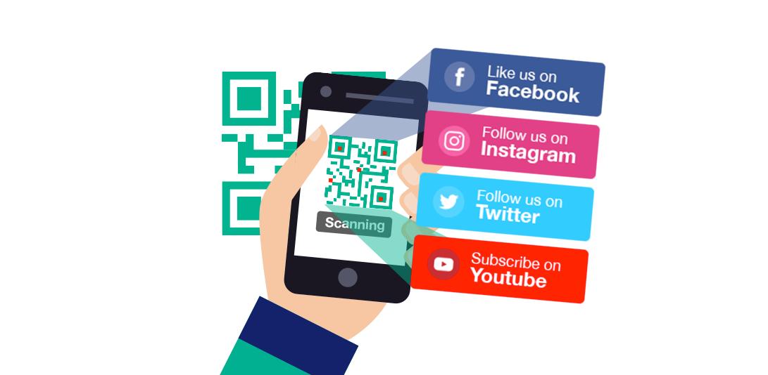 free social media qr code