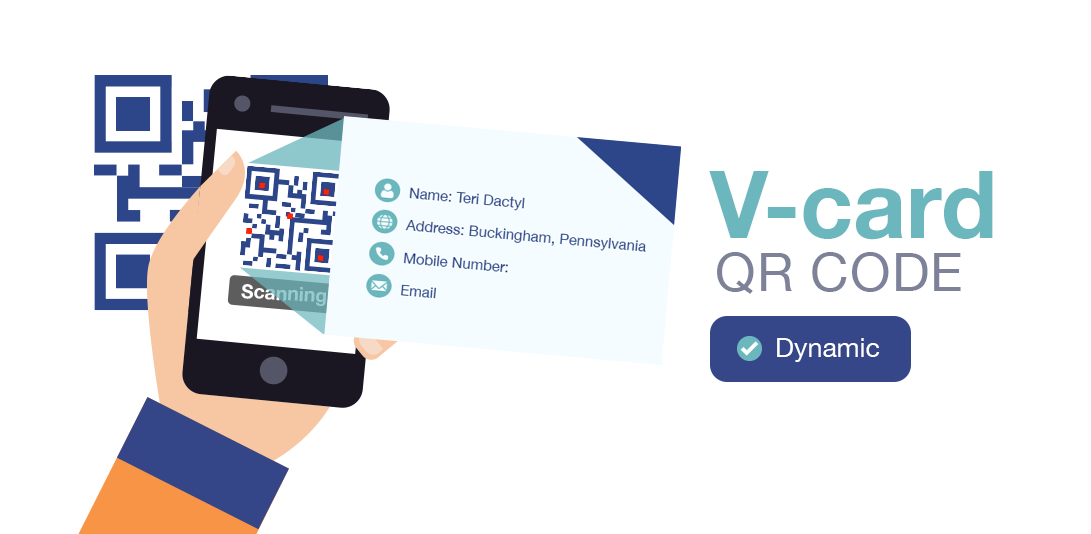 qr code types vcard