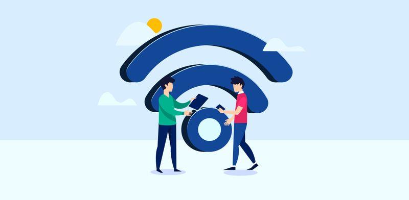 free wifi qr code