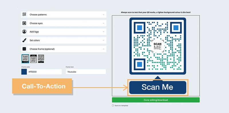 redirect existing qr code