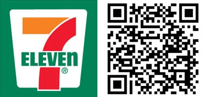 qr codes in retail 7 eleven