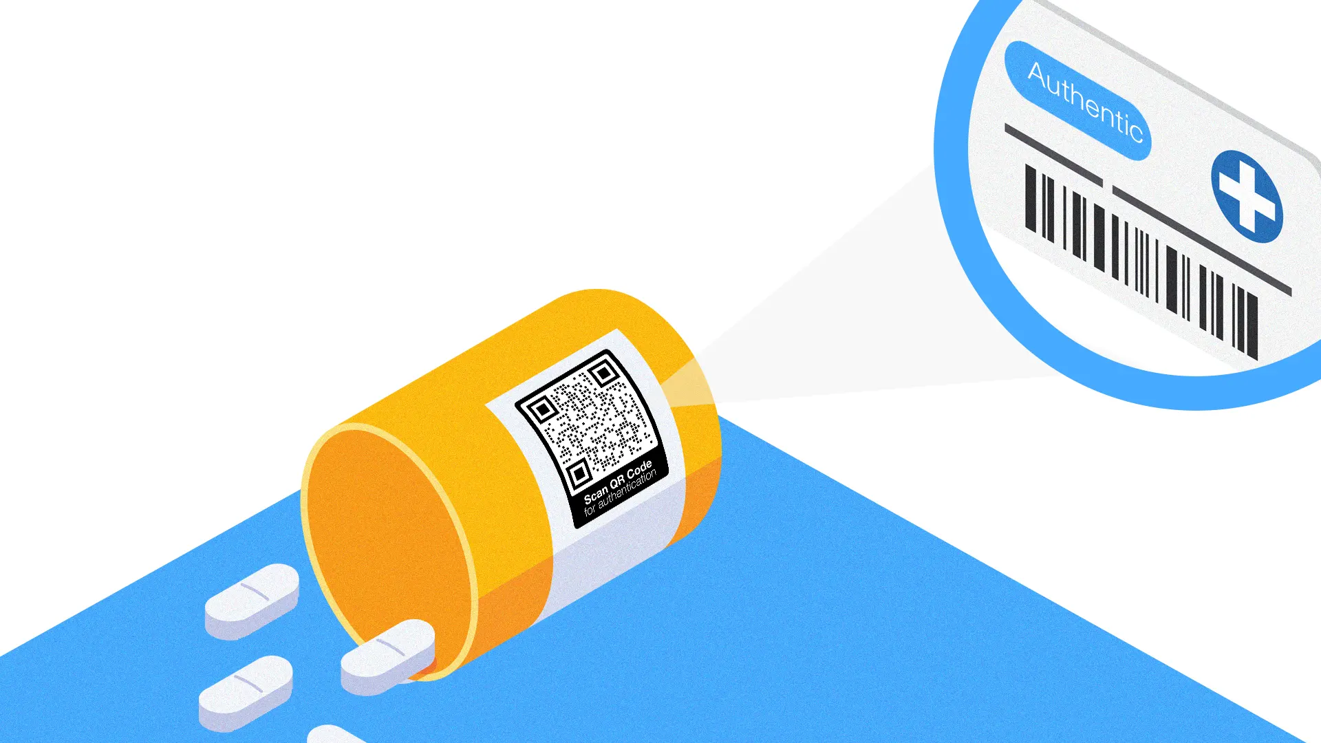qr codes on drug packaging for authentication