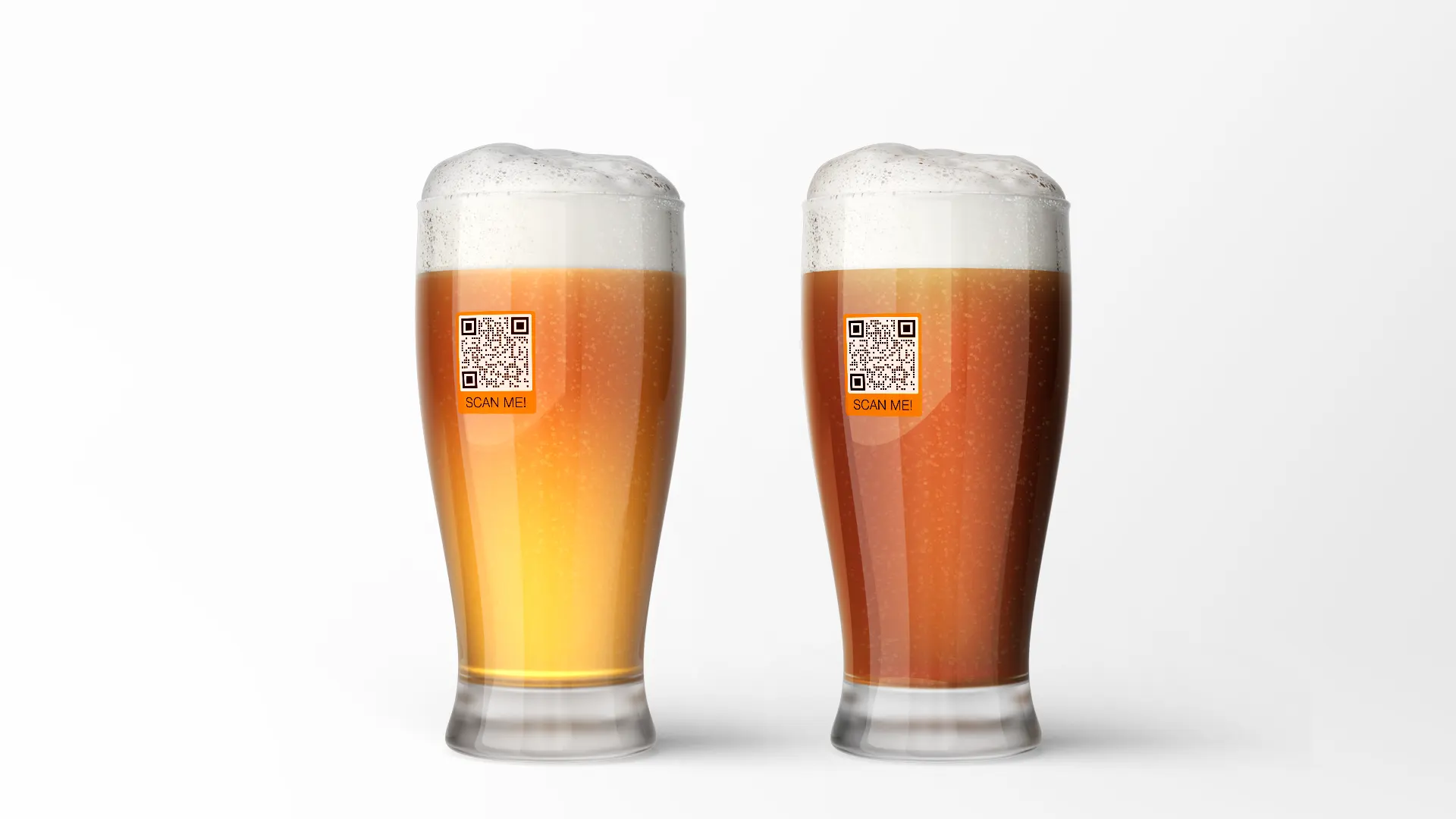 creative uses of qr codes beer glasses