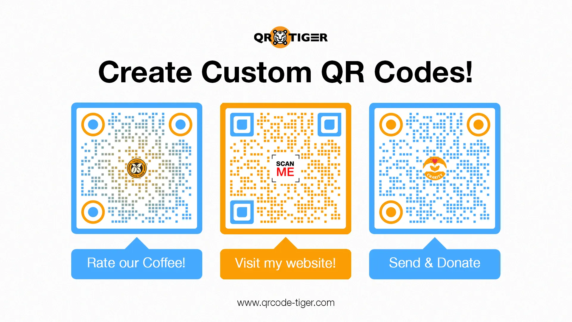 visual qr codes in qr codes on poster