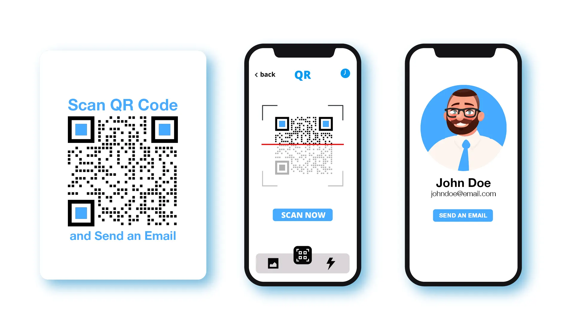 free qr code email