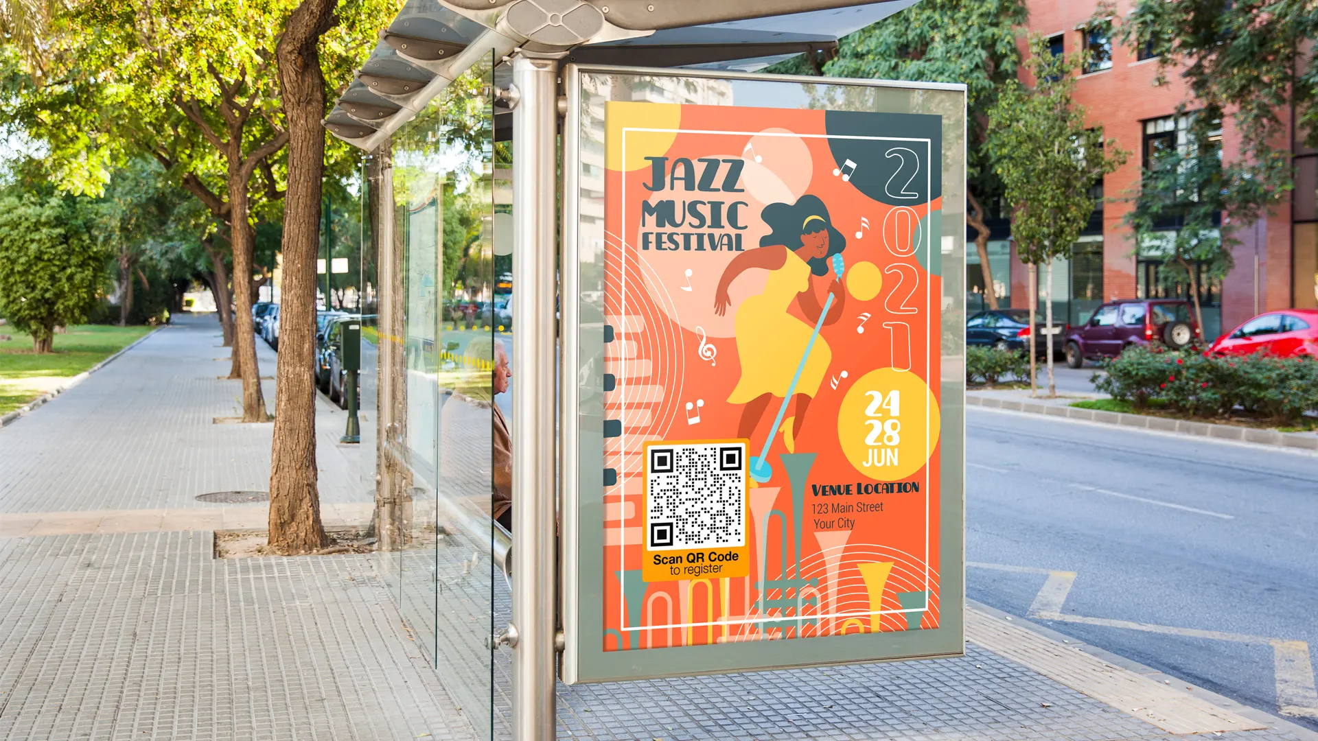 creative uses of qr codes posters for events