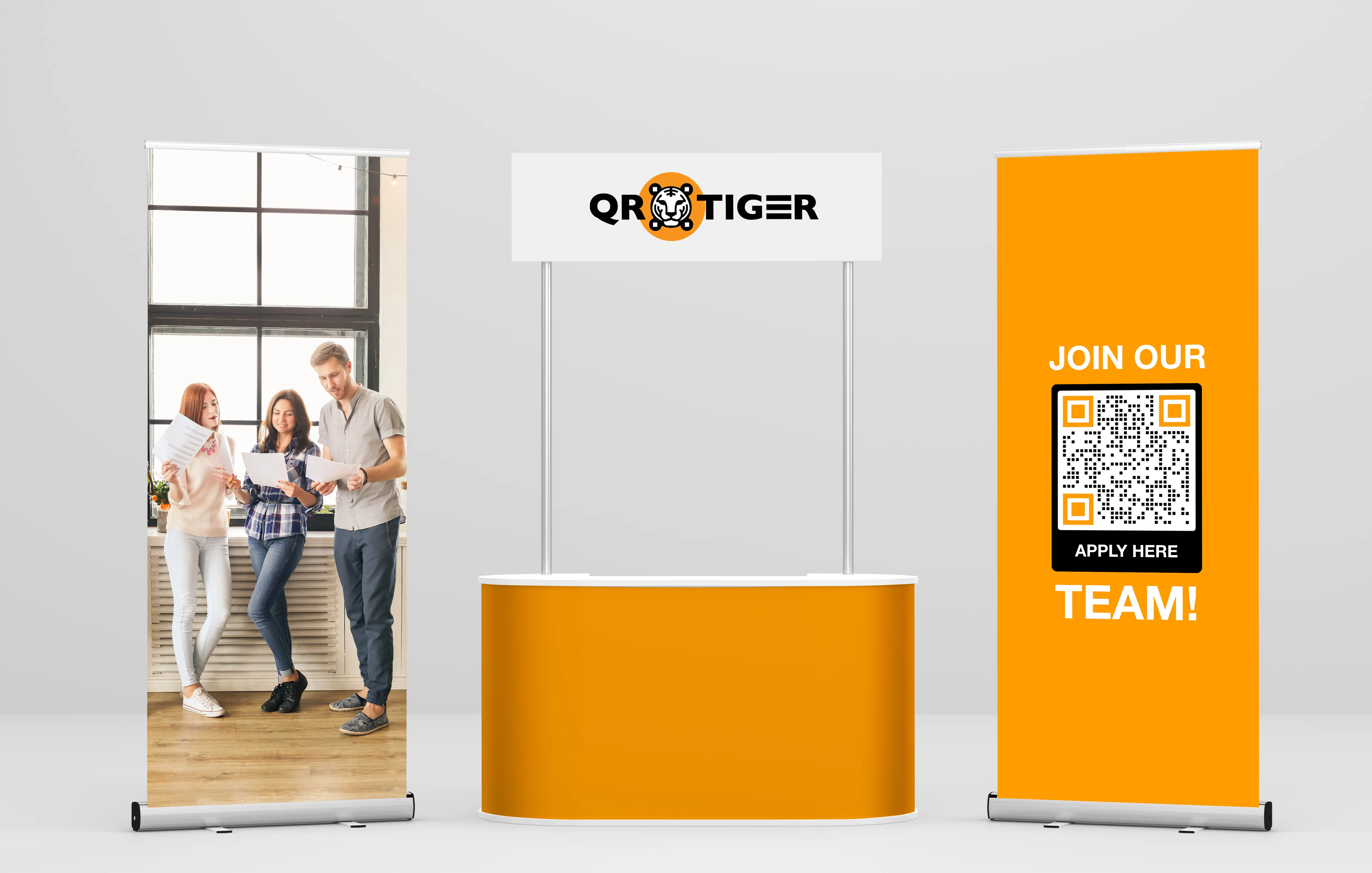 qr codes in recruiting in events