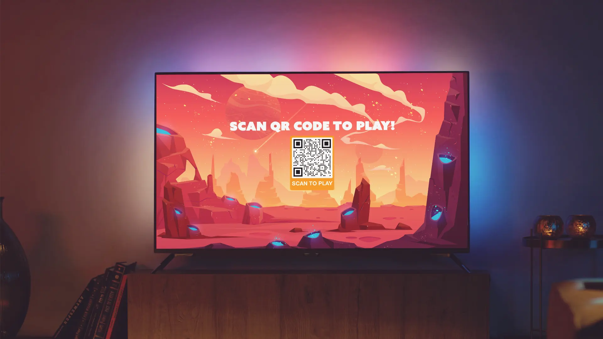 augmented reality qr code games