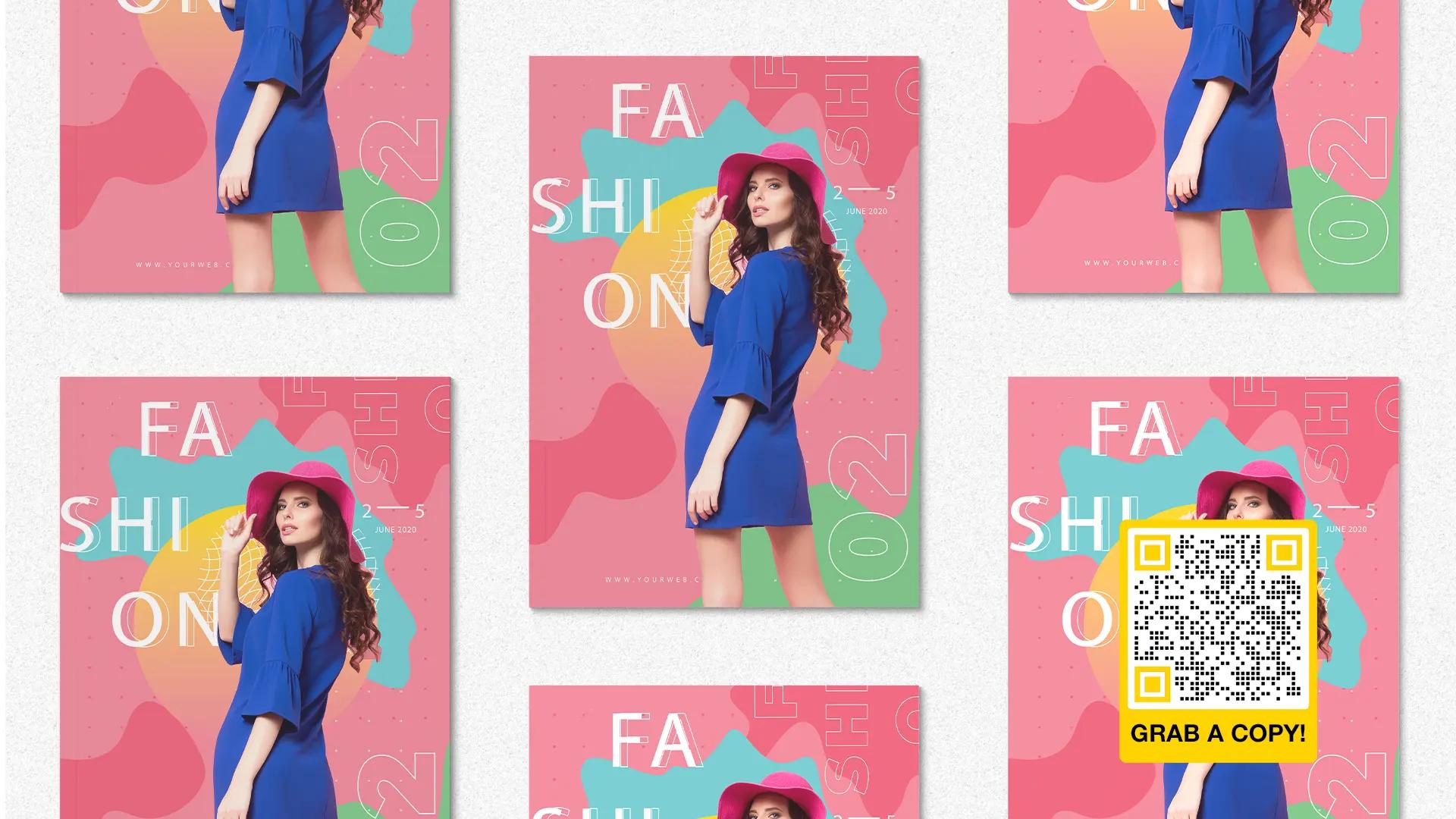 magazine qr code for fashion
