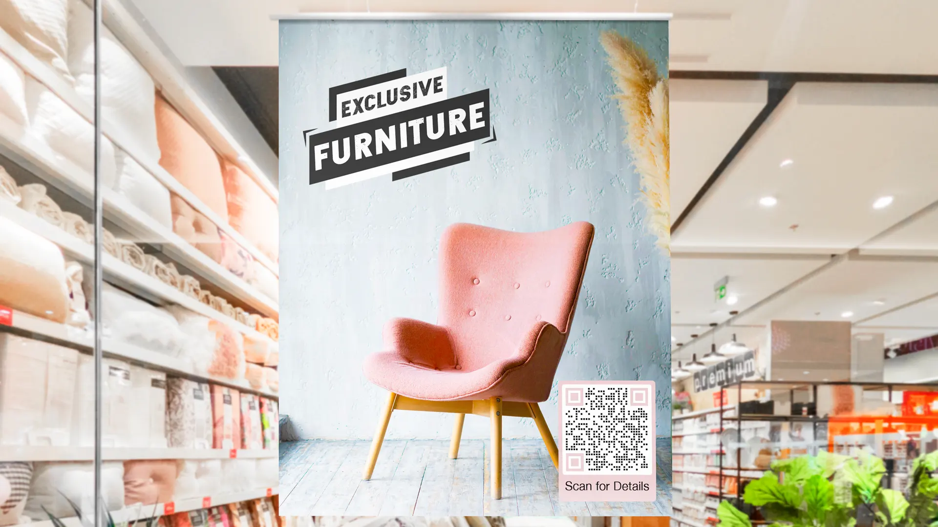creative uses of qr codes printed ad