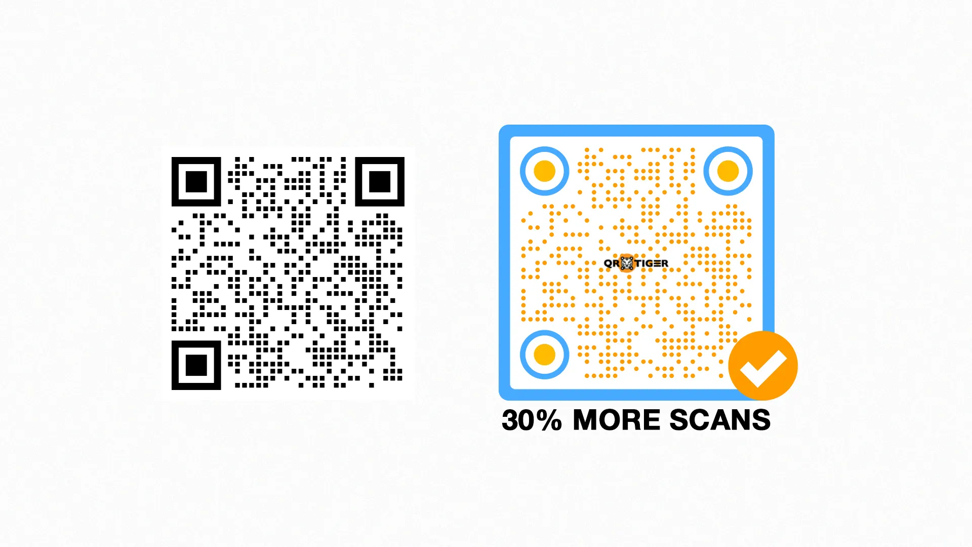branded qr code customize and adjust