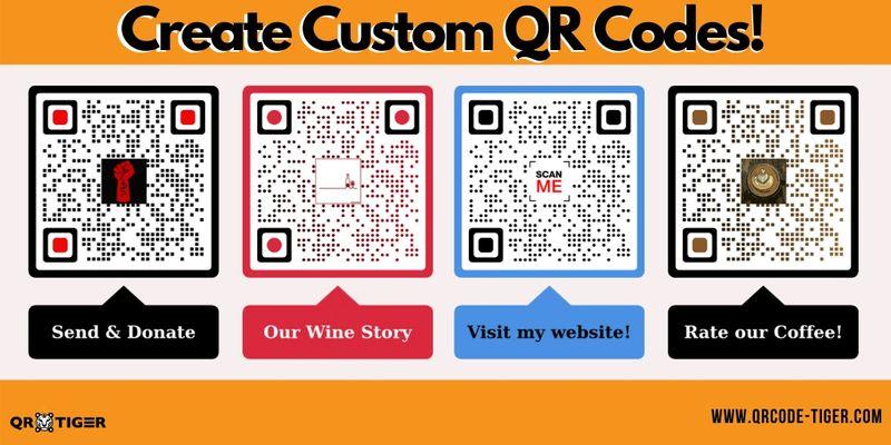 cool qr codes customizable