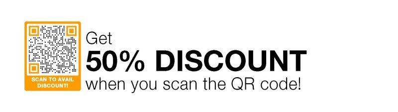 qr code discount