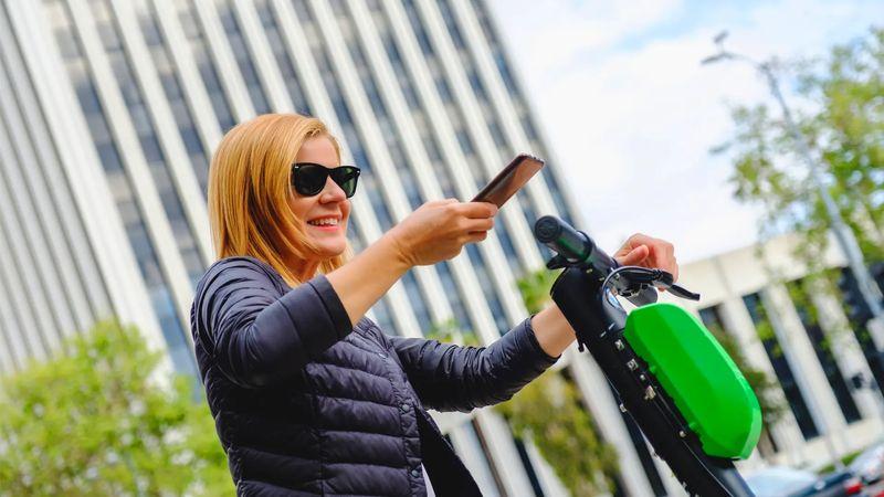 creative uses of qr codes bike and car sharing