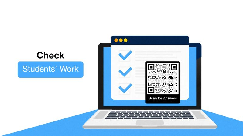 qr codes in education check answers
